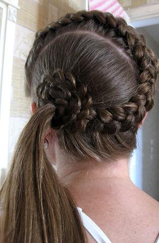 Как сделать коса рыбий хвост фото 563