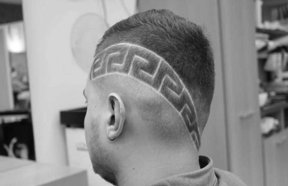 Ваша стильная стрижка hair tattoo для мужчин, девушек и детей